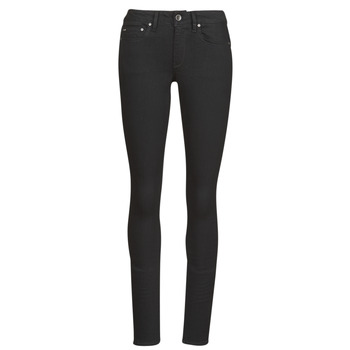 Vêtements Femme Jeans skinny G-Star Raw Midge Zip Mid Skinny Wmn Pitch black