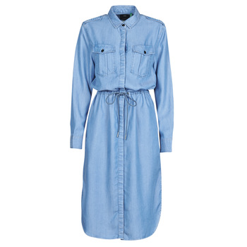 Vêtements Femme Robes longues G-Star Raw Rovic maxi shirt dress ls lt aged