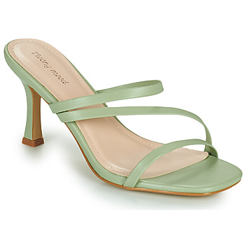 Chaussures Femme Mules Moony Mood OBIUTI Vert amande