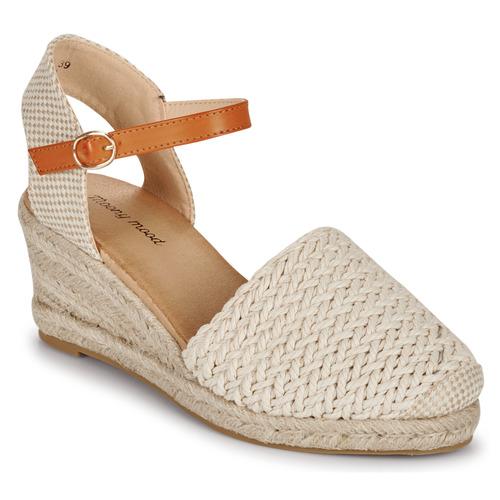 Chaussures Femme Sandales et Nu-pieds Moony Mood OCUTE Beige