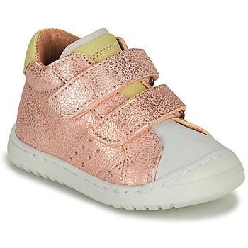Chaussures Fille Baskets basses Bisgaard TATE Rose doré