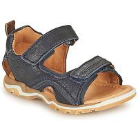 Chaussures Garçon Sandales sport Bisgaard CASPAR Marine