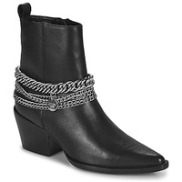 Chaussures Femme Bottes ville Bronx JUKESON Noir