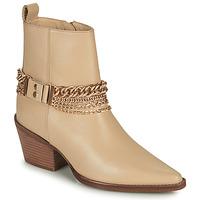 Chaussures Femme Bottes ville Bronx JUKESON Beige