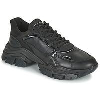 Chaussures Femme Baskets basses Bronx TAYKE OVER Noir