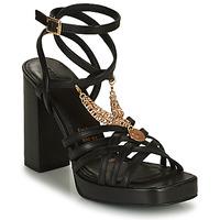 Chaussures Femme Sandales et Nu-pieds Bronx NEW RENEE Noir