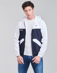 Vêtements Homme Blousons Lacoste SHANNA Marine / Blanc