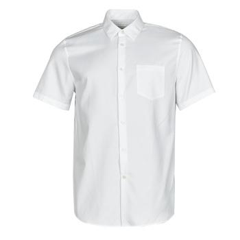 Vêtements Homme Chemises manches courtes Lacoste FOLLA Blanc