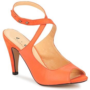 Chaussures Femme Sandales et Nu-pieds D.Co Copenhagen MARISSA Orange