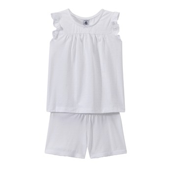 Vêtements Fille Pyjamas / Chemises de nuit Petit Bateau FRIDGET Multicolore