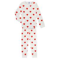 Vêtements Fille Pyjamas / Chemises de nuit Petit Bateau MISON Multicolore