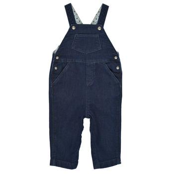 Vêtements Garçon Combinaisons / Salopettes Petit Bateau MILIBERT Bleu