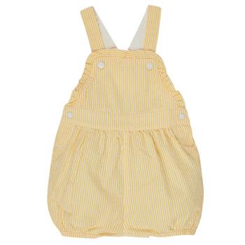 Vêtements Fille Combinaisons / Salopettes Petit Bateau MERINE Jaune