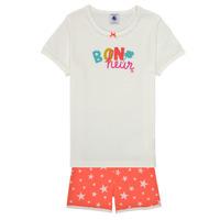 Vêtements Fille Pyjamas / Chemises de nuit Petit Bateau MARSHA Multicolore