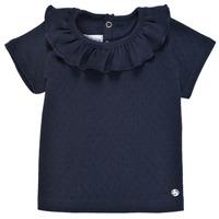Vêtements Fille T-shirts manches courtes Petit Bateau MELISSA Marine