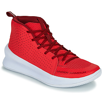 Chaussures Homme Basketball Under Armour JET Rouge
