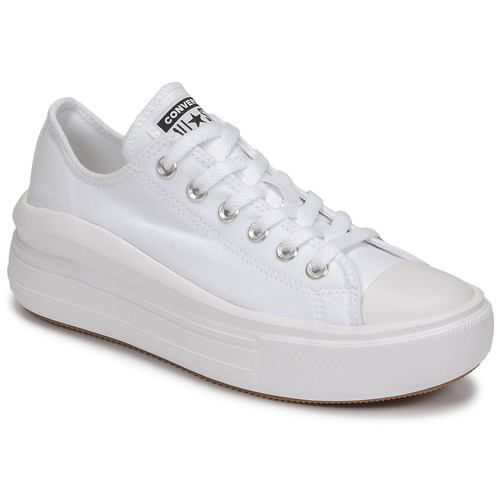 Chaussures Femme Baskets basses Converse CHUCK TAYLOR ALL STAR MOVE CANVAS OX Blanc