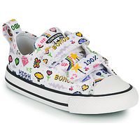 Chaussures Fille Baskets basses Converse CHUCK TAYLOR ALL STAR 2V GIRLS GAMER OX Blanc / Multicolor