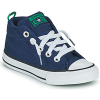 Chaussures Enfant Baskets montantes Converse CHUCK TAYLOR ALL STAR STREET CANVAS COLOR MID Bleu