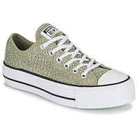 Chaussures Femme Baskets basses Converse CHUCK TAYLOR ALL STAR LIFT BREATHABLE OX Kaki