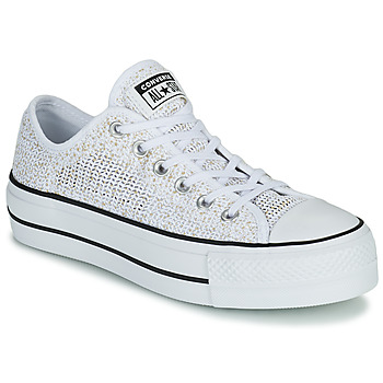 Chaussures Femme Baskets basses Converse CHUCK TAYLOR ALL STAR LIFT BREATHABLE OX Blanc