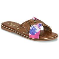 Chaussures Femme Mules Kaporal EMILI Marron / Multicolore
