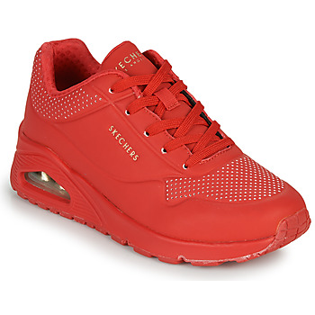 Chaussures Femme Baskets basses Skechers UNO STAND ON AIR Rouge