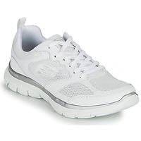 Chaussures Femme Fitness / Training Skechers FLEX APPEAL 4.0 Blanc