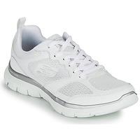 Chaussures Femme Fitness / Training Skechers FLEX APPEAL 4.0 Blanc
