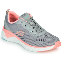 Chaussures Femme Fitness / Training Skechers SOLAR FUSE COSMIC VIEW Gris / Rose