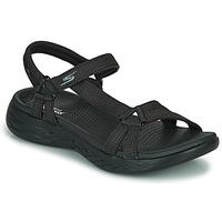Chaussures Femme Sandales sport Skechers ON THE GO 600 Noir