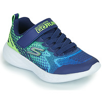 Chaussures Garçon Baskets basses Skechers GO RUN 600 Bleu / Vert