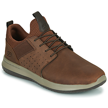 Chaussures Homme Baskets basses Skechers DELSON AXTON Marron