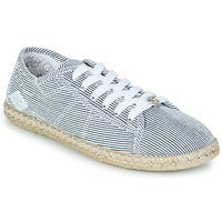Chaussures Femme Baskets basses Le Temps des Cerises BEACH Bleu / Blanc