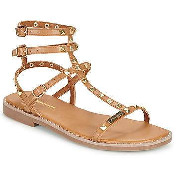 Chaussures Femme Sandales et Nu-pieds Les Tropéziennes par M Belarbi CORALIE Marron