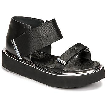 Chaussures Femme Sandales et Nu-pieds United nude VITA SANDAL LO Noir