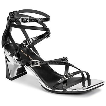 Chaussures Femme Sandales et Nu-pieds United nude MOLTEN STRAPPY MID Noir
