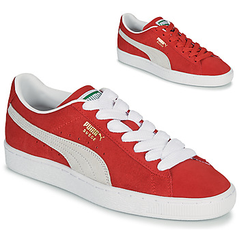 Chaussures Baskets basses Puma SUEDE Rouge