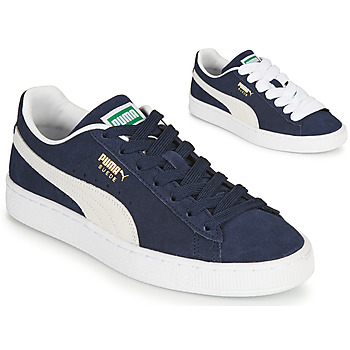 Chaussures Baskets basses Puma SUEDE Bleu