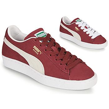 Chaussures Baskets basses Puma SUEDE Bordeaux