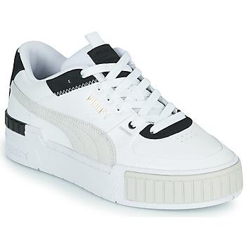 Chaussures Femme Baskets basses Puma CALI SPORT Blanc / Noir