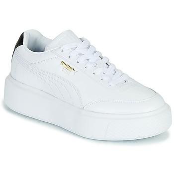 Chaussures Femme Baskets basses Puma CALI OSLO Blanc / Noir