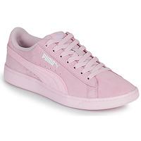 Chaussures Femme Baskets basses Puma VIKKY Rose
