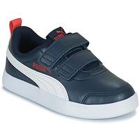 Chaussures Enfant Baskets basses Puma COURTFLEX PS Noir