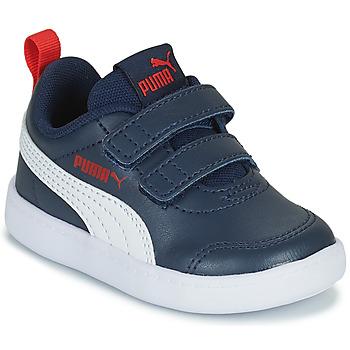 Chaussures Enfant Baskets basses Puma COURTFLEX INF Noir