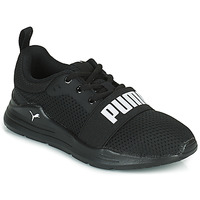 Chaussures Enfant Baskets basses Puma WIRED PS Noir