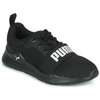 Chaussures Garçon Baskets basses Puma WIRED PS Noir
