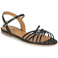 Chaussures Femme Sandales et Nu-pieds Emma Go SASKIA Noir