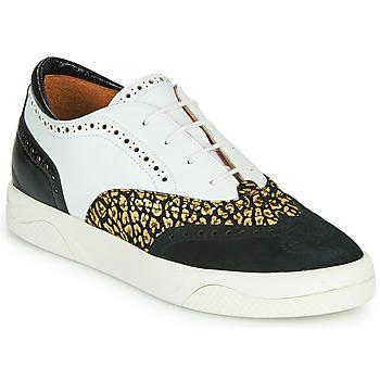 Chaussures Femme Baskets basses Mam'Zelle ALIBI Blanc / Doré