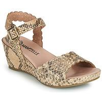 Chaussures Femme Sandales et Nu-pieds Mam'Zelle DOUGA Beige